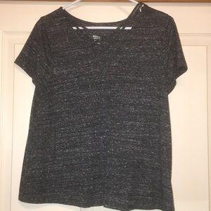 Cross front T-shirt